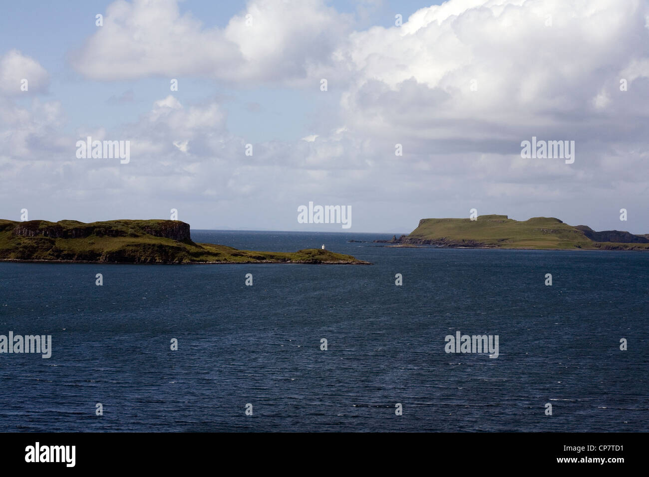 Ardtreck Point Loch Harport from Bracadale Isle of Skye Scotland Stock Photo