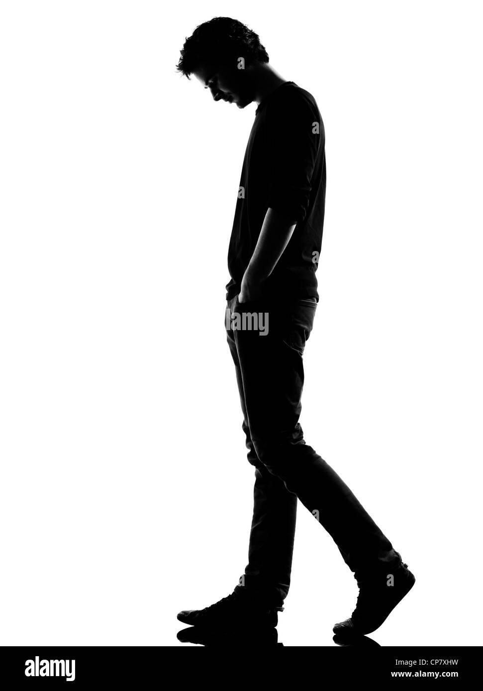 Silhouette Man Walking White Background Stock Photos ...   971 x 1390 jpeg 58kB