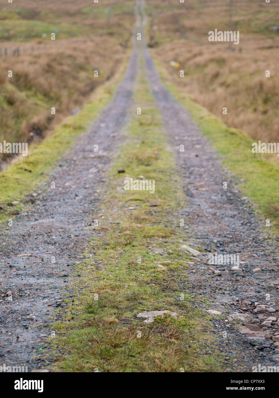 Track, Achmore, Isle of Lewis - Stock Image