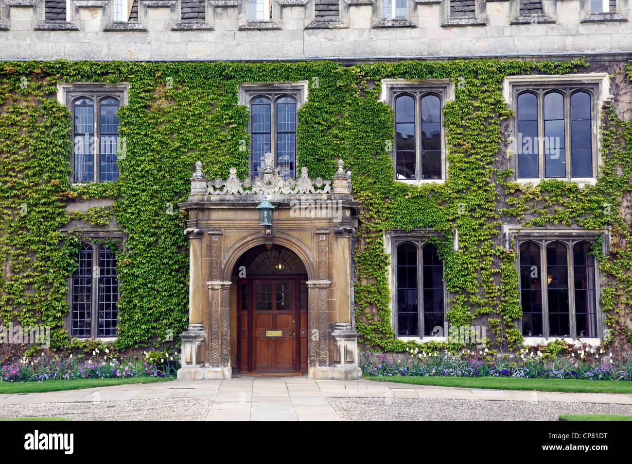 Trinity College, Cambridge, England - Stock Image