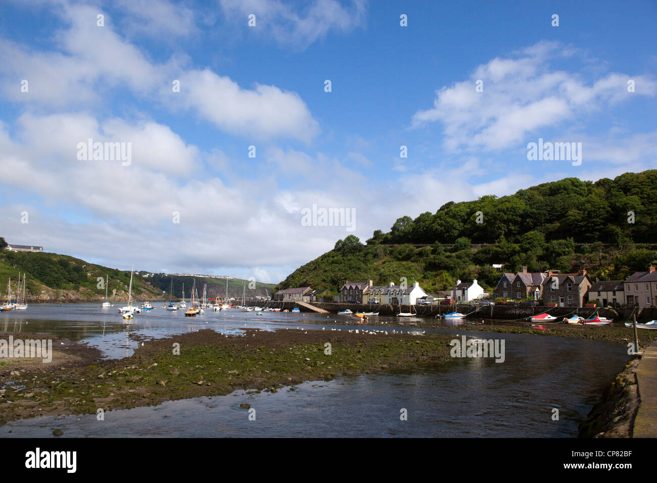Fishguard Harbour - Stock Image