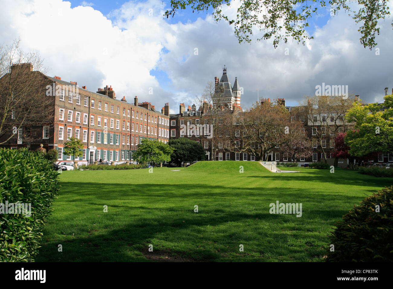 New Square, Lincoln's Inn, London, UK - Stock Image