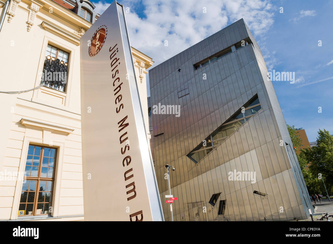 Jewish Museum, Berlin, Germany - Stock Image