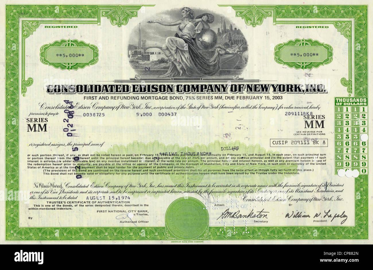 Consolidated Edison Aktie