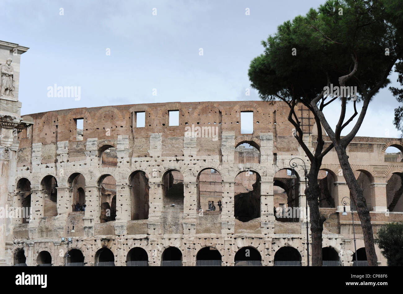 Colosseum Rome, Italy Stock Photo