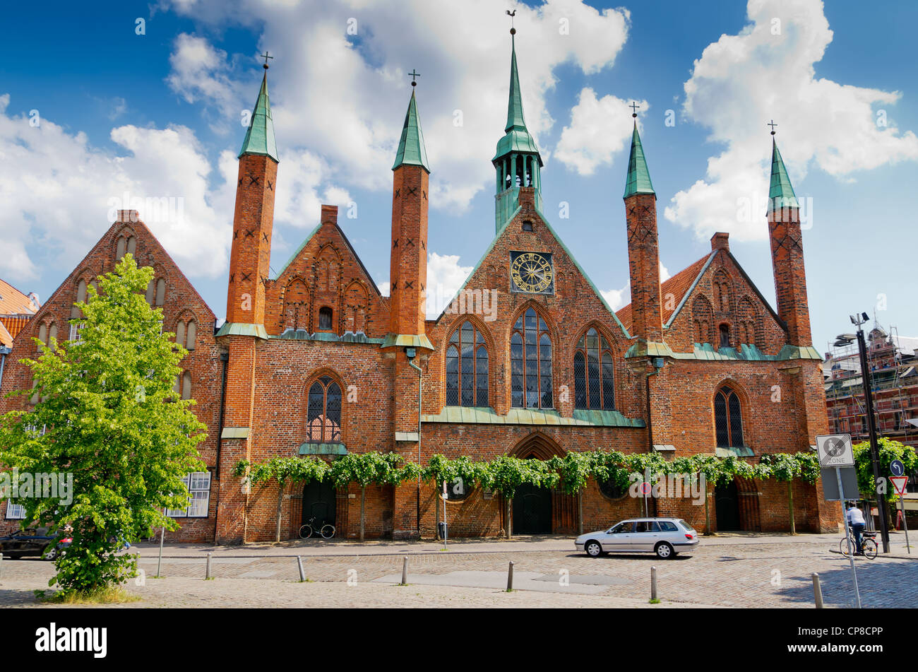 Holy Spirit Hospital. Lubeck. Germany - Stock Image