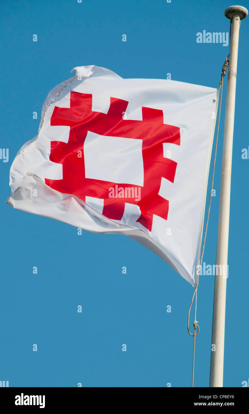 English Heritage Flag - Stock Image