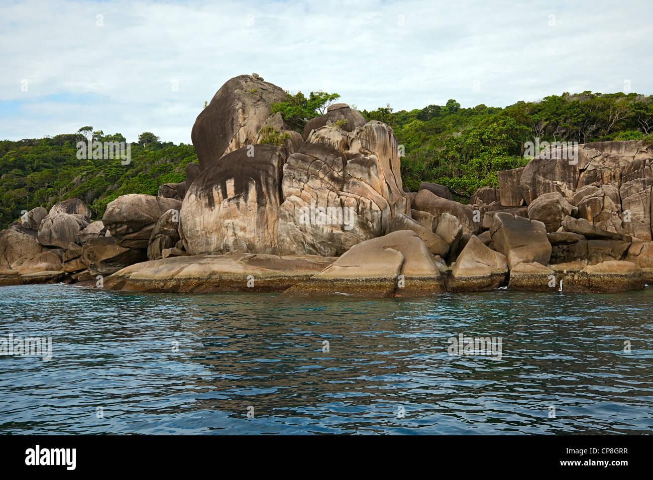 Similan islands, Andaman sea, Thailand. - Stock Image