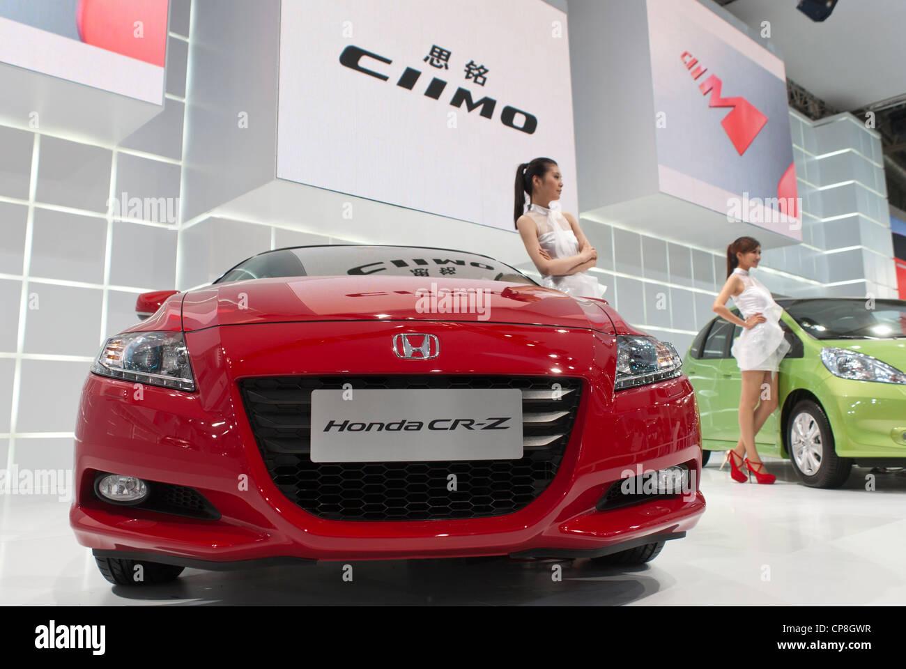 The Honda CR-Z - Stock Image