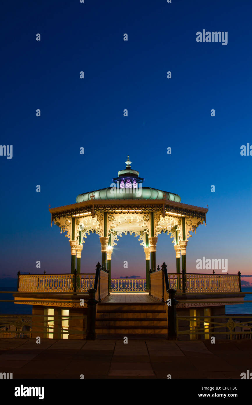 Brighton Bandstand, UK - Stock Image