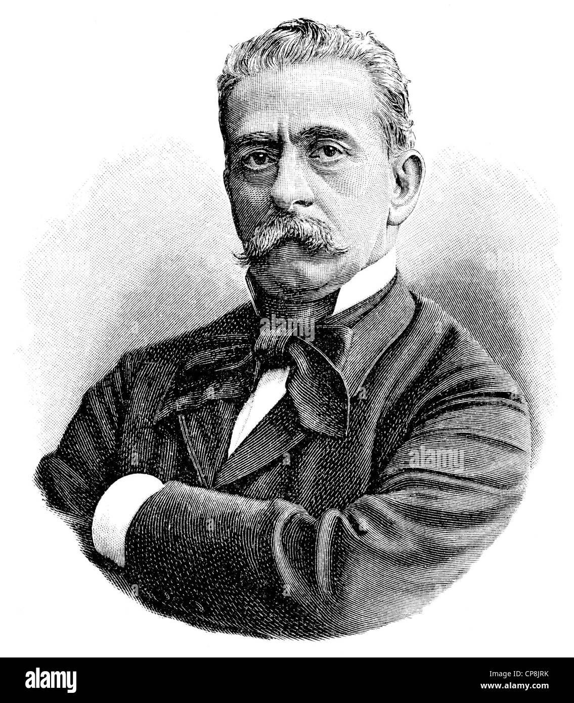 Paolo Ferrari 1822 1889 An Italian Comedy Writer Historische Stock Photo Alamy