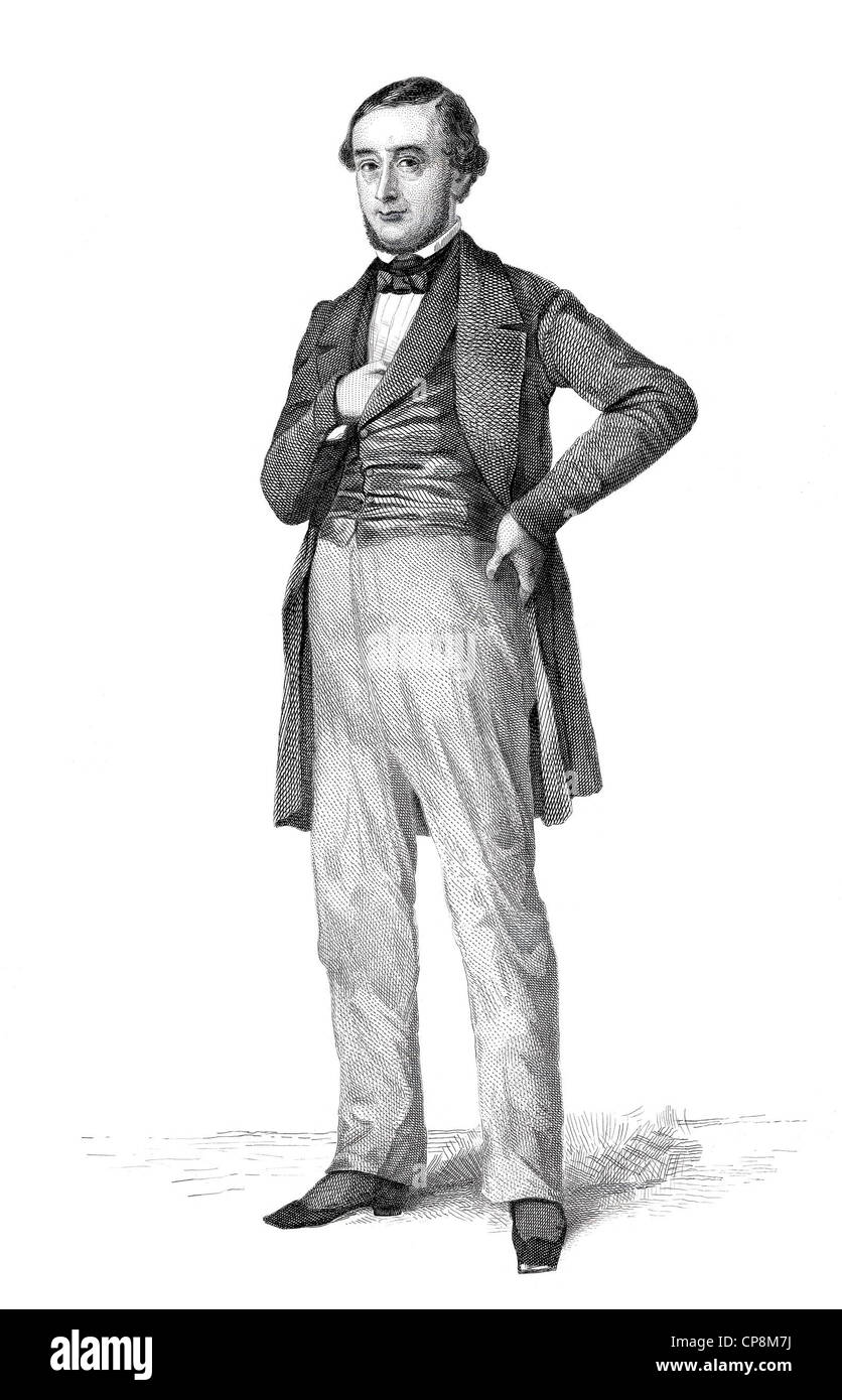 Adolphe Clément Joseph Delespaul, 1802 - 1849, member of the French National Assembly, France, 1848, Historischer - Stock Image