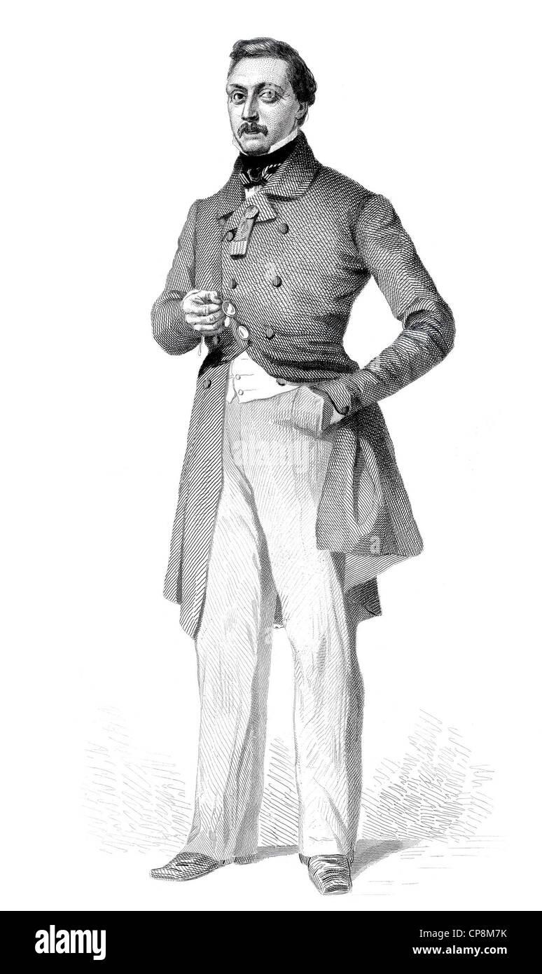 François Joseph Louis Desurmont, 1812 - 1877, member of the French National Assembly, France, 1848, Historischer - Stock Image