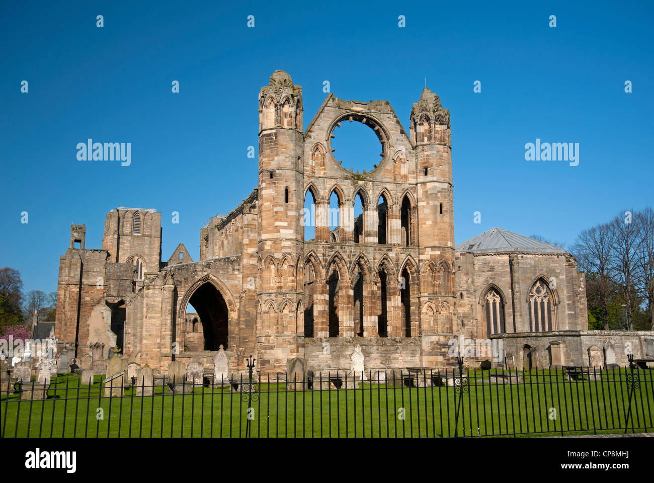 Elgin Cathedral, Moray, Grampian Region. Scotland.  SCO 8213 Stock Photo