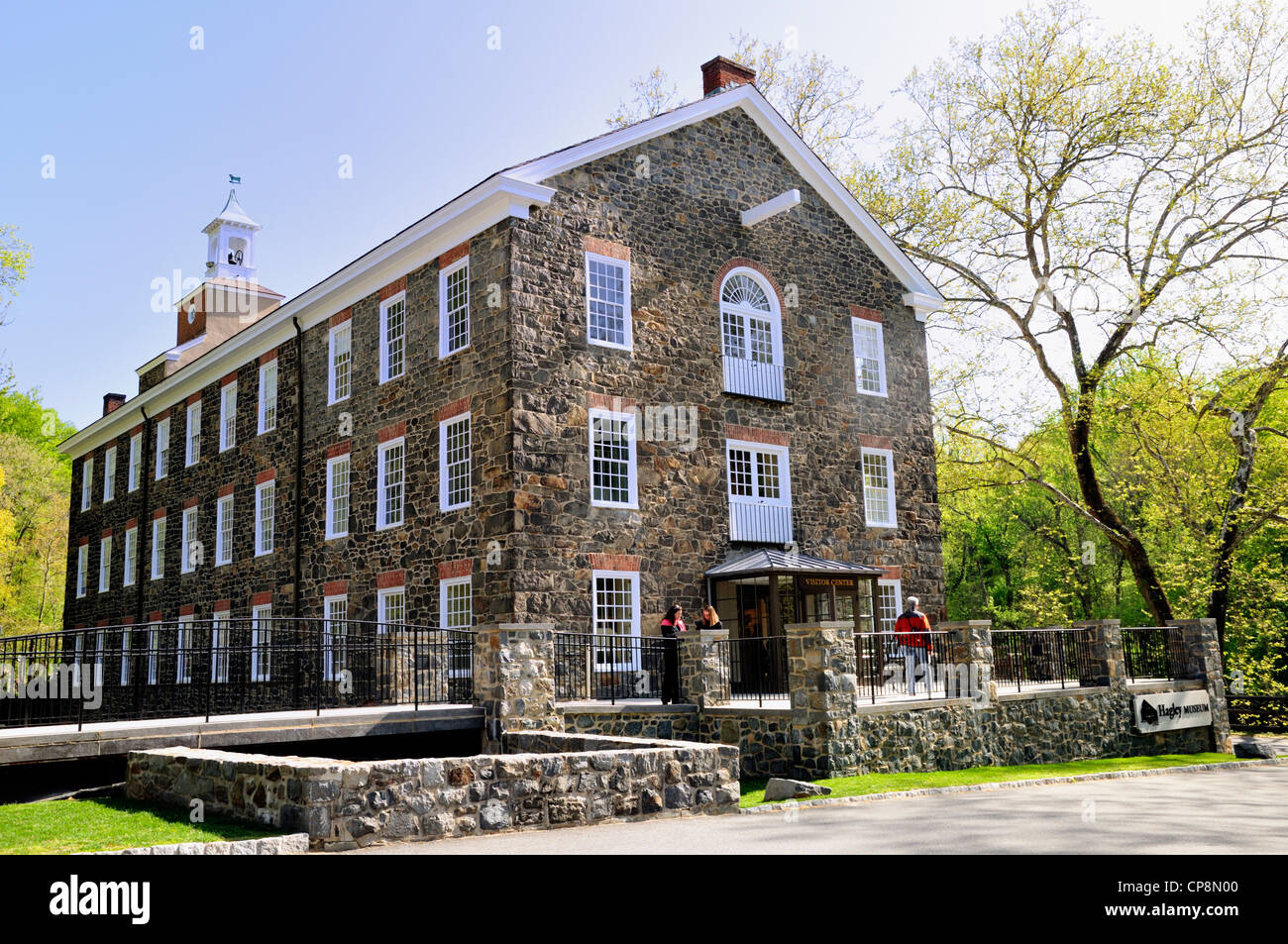 Hagley Museum visitor center - Stock Image