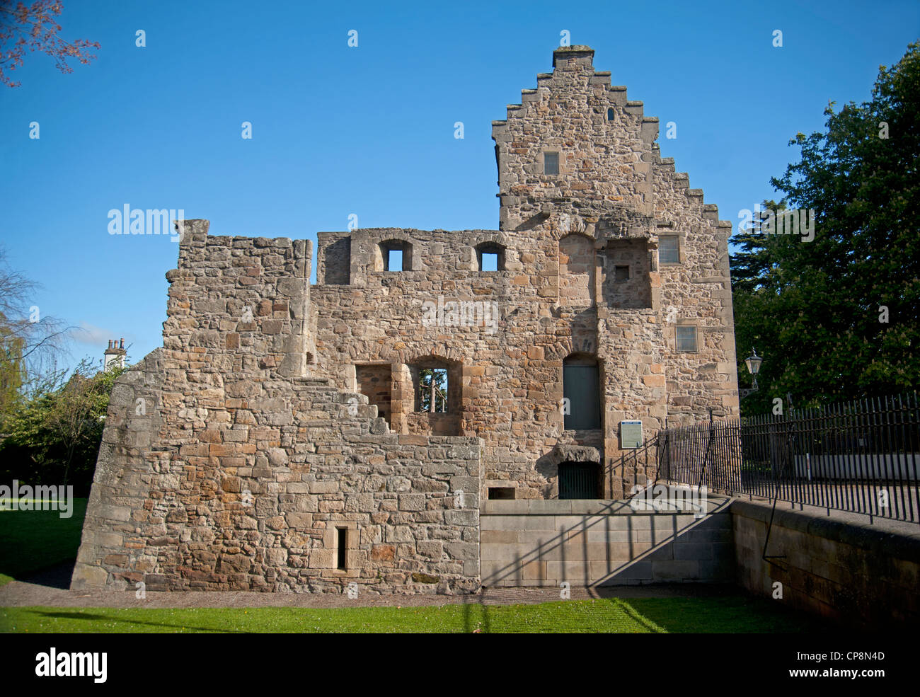 The Bishops Palace by Elgin Cathedral, Moray, Grampian Region. Scotland.  SCO 8220 Stock Photo