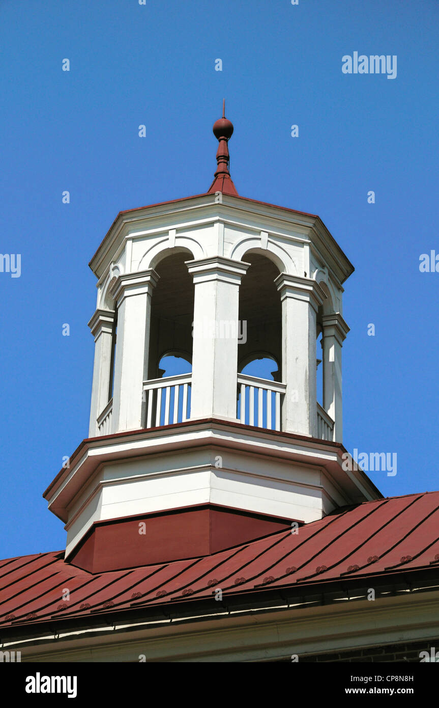 Cupola of the Arsenal at old New Castle, Delaware - Stock Image