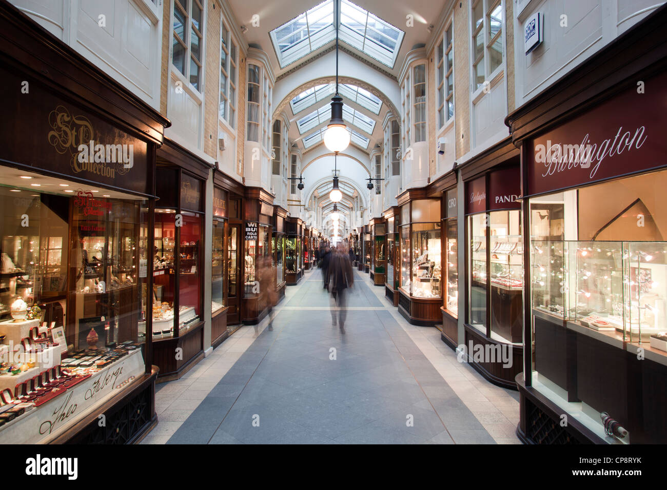 Burlington Arcade - Stock Image