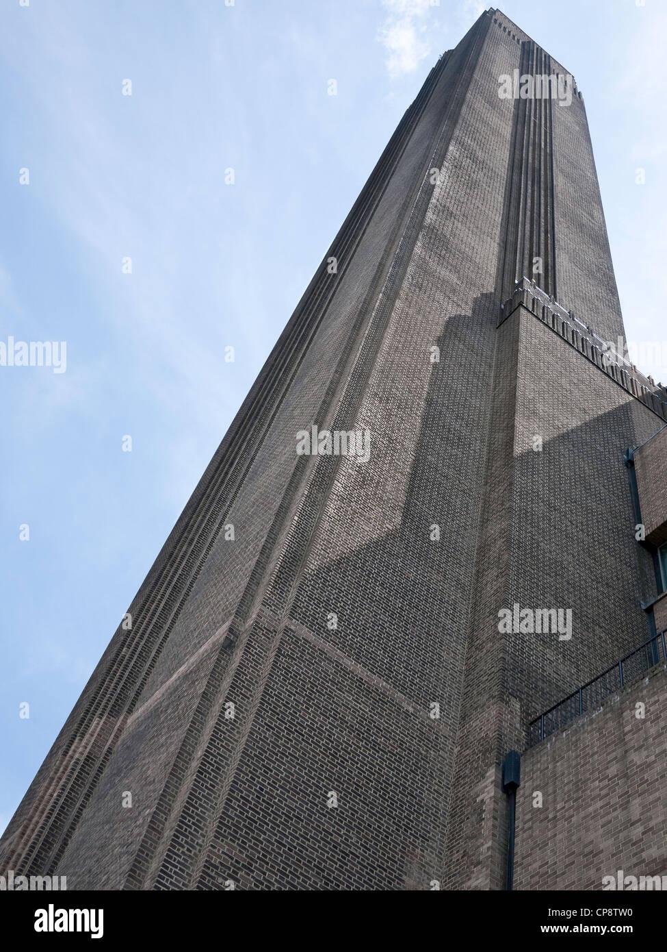 The Tate Modern, Bankside, London. UK - Stock Image