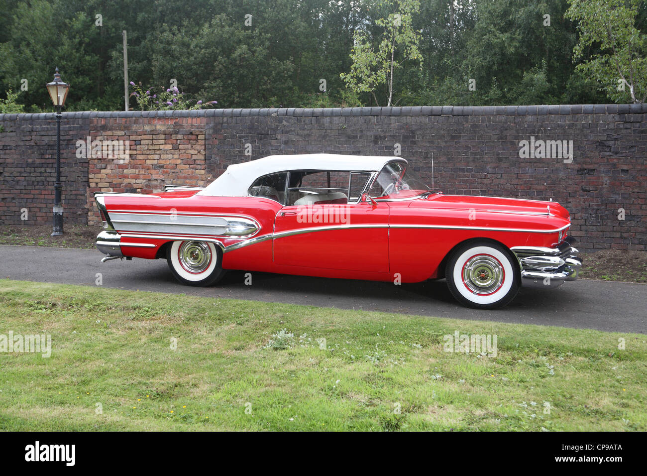 Restored Buick Stock Photos Images Alamy 1951 Skylark Convertible 1958 Special