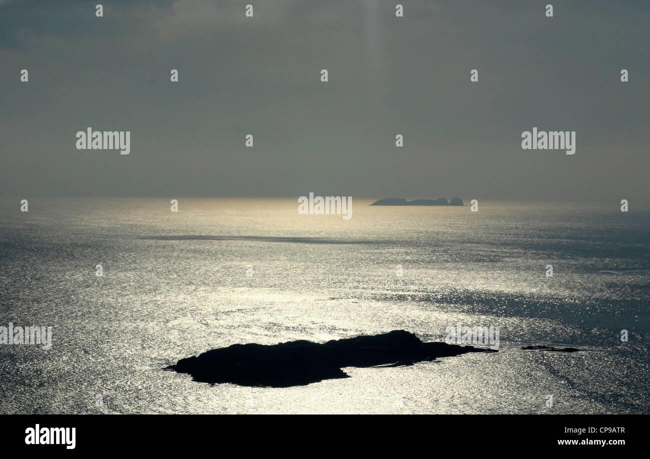 Atlantic Silhouette - Stock Image