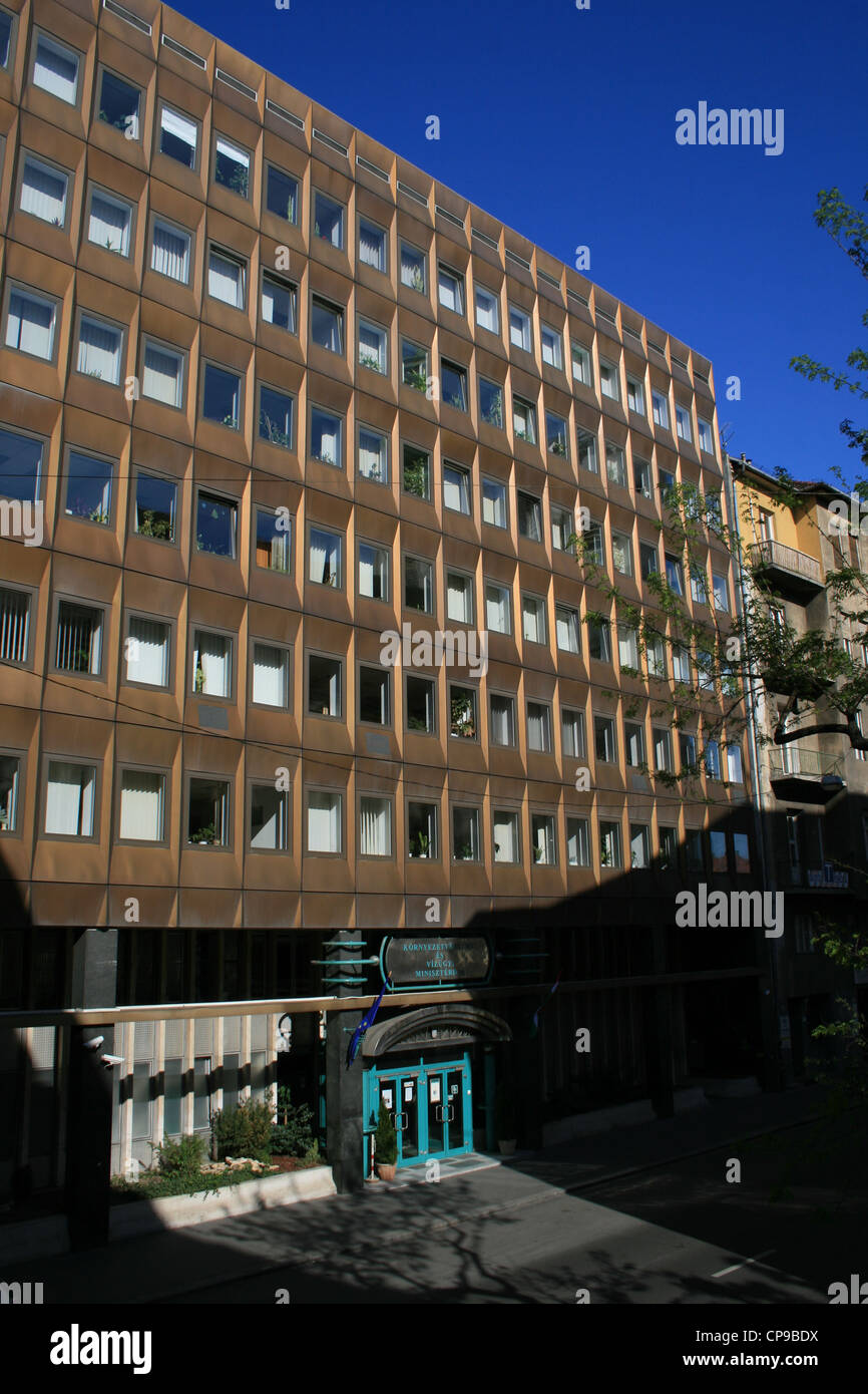 Ministry of Environment Protection and Water Management, Budapest Stock Photo