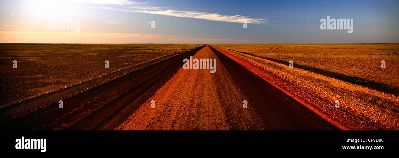 Outback road, Australia Stock Photo