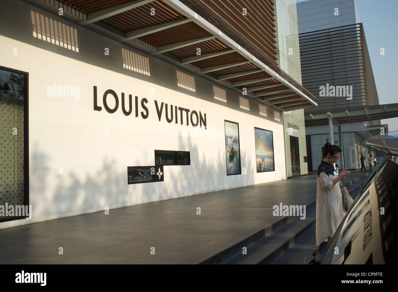0adcb1a48aa79 Louis Vuitton Luxury Goods Store Stock Photos   Louis Vuitton Luxury ...