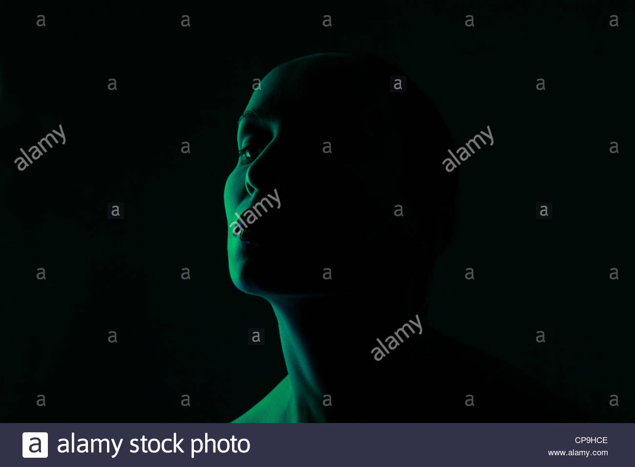 Dark - Stock Image