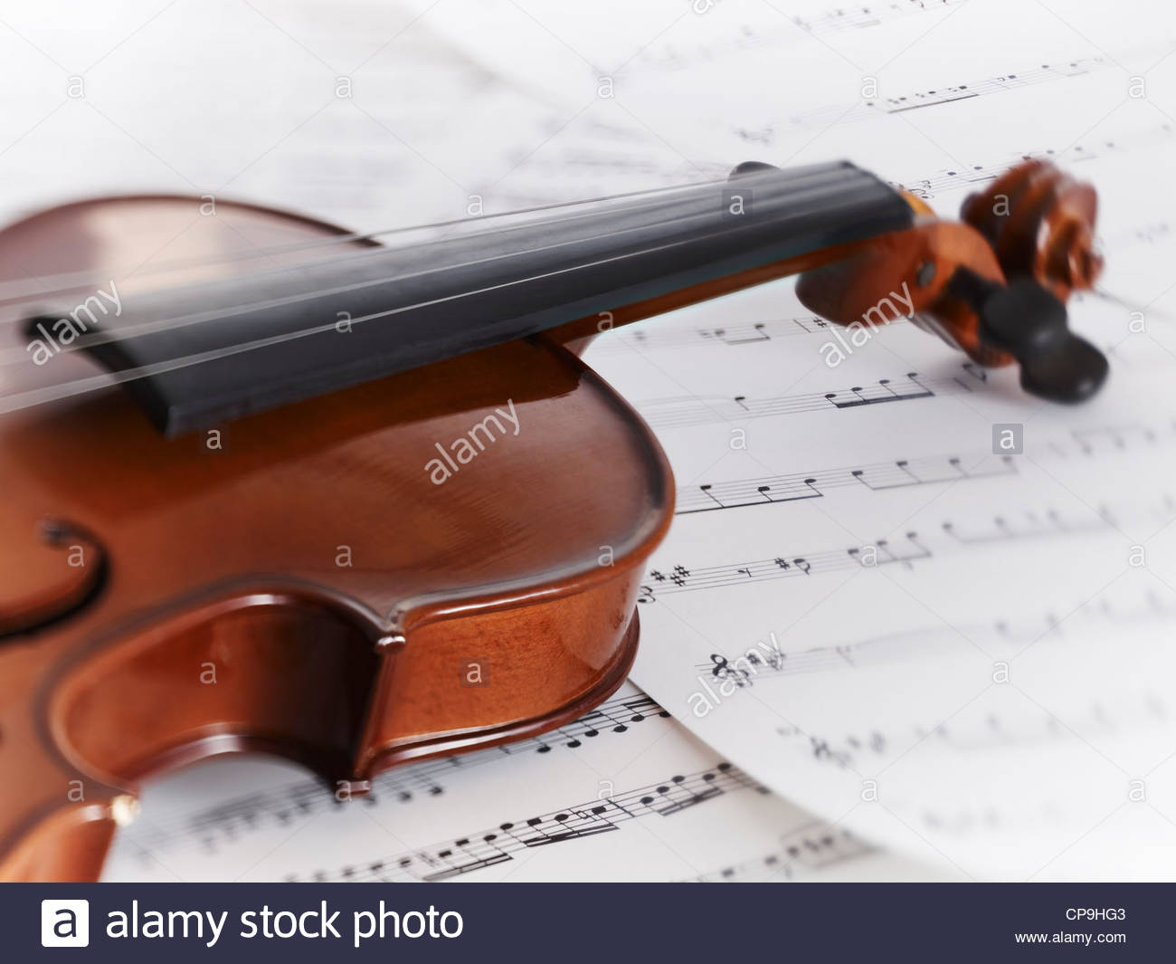 close up,color image,detail,entertainment,horizontal,instrument,music,no people,photography,sheet music,single object,still - Stock Image
