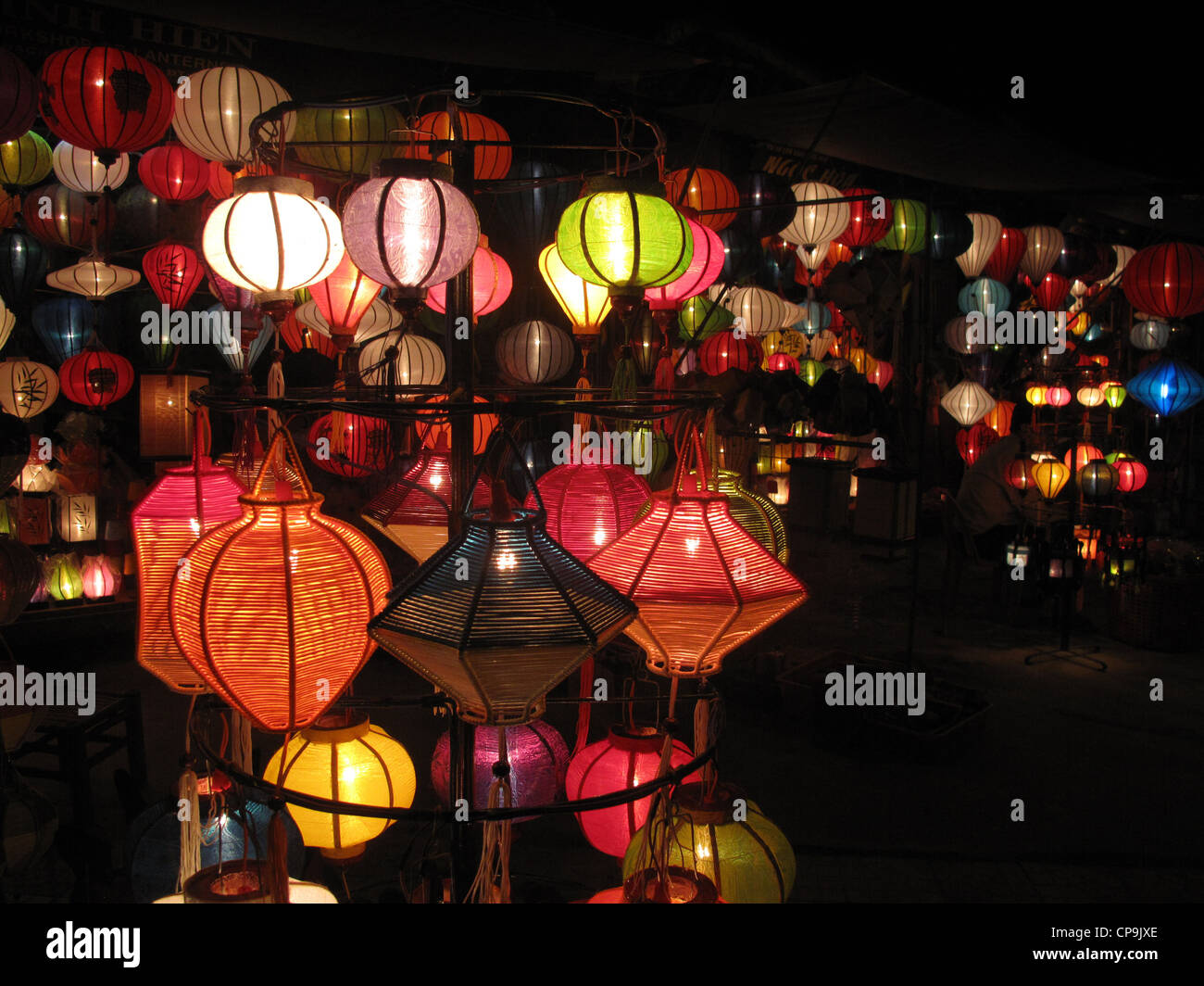 Lampions, Laternen, Hoi An, Vietnam, Asien - Stock Image