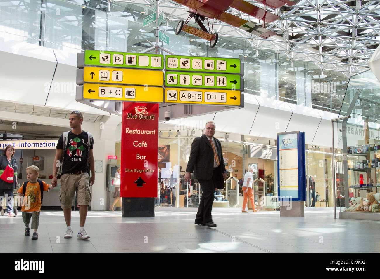 Berlin Tegel Airport Interior Arrivals Stock Photos Berlin
