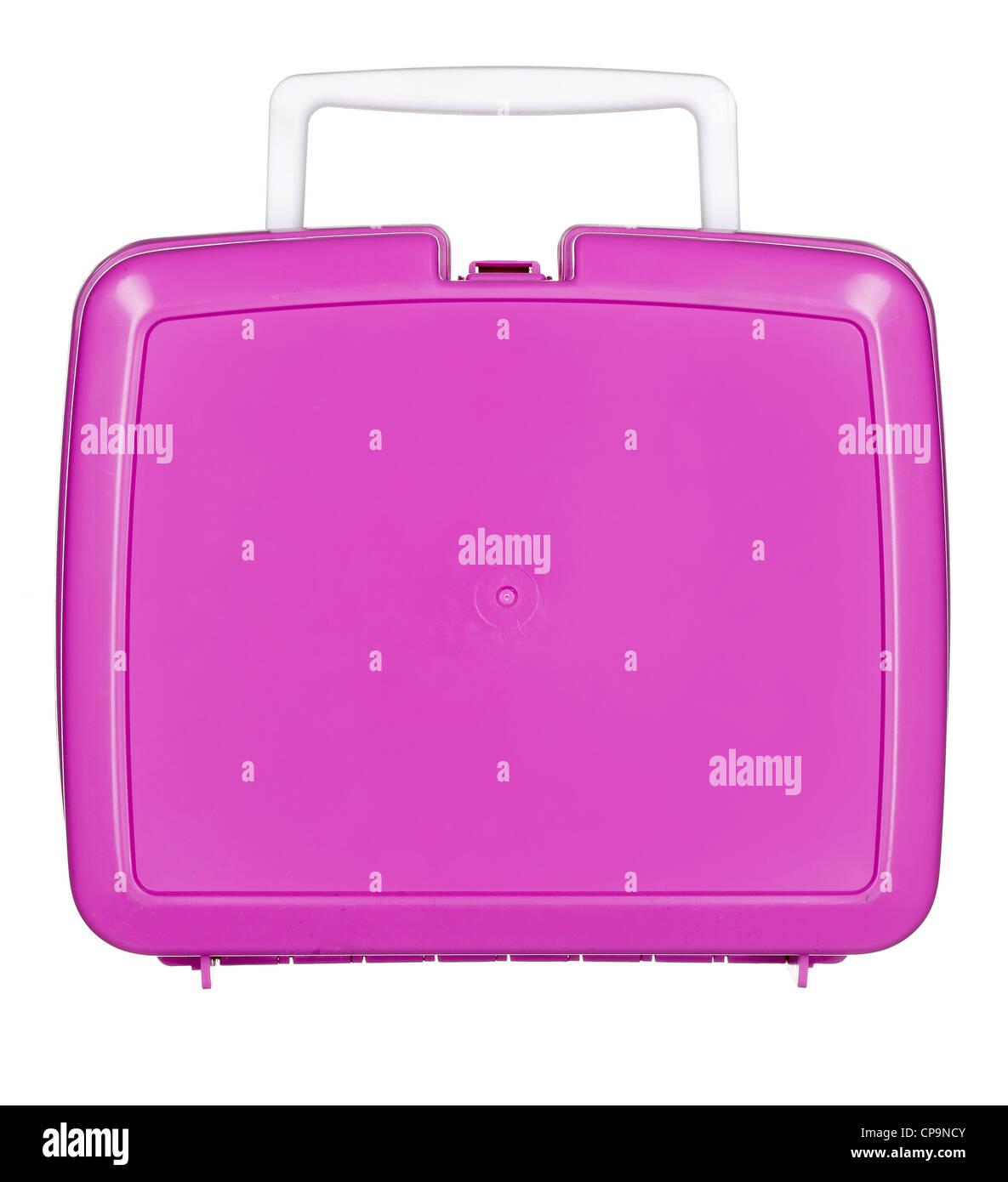 pink girls lunch box Stock Photo: 48157563 - Alamy