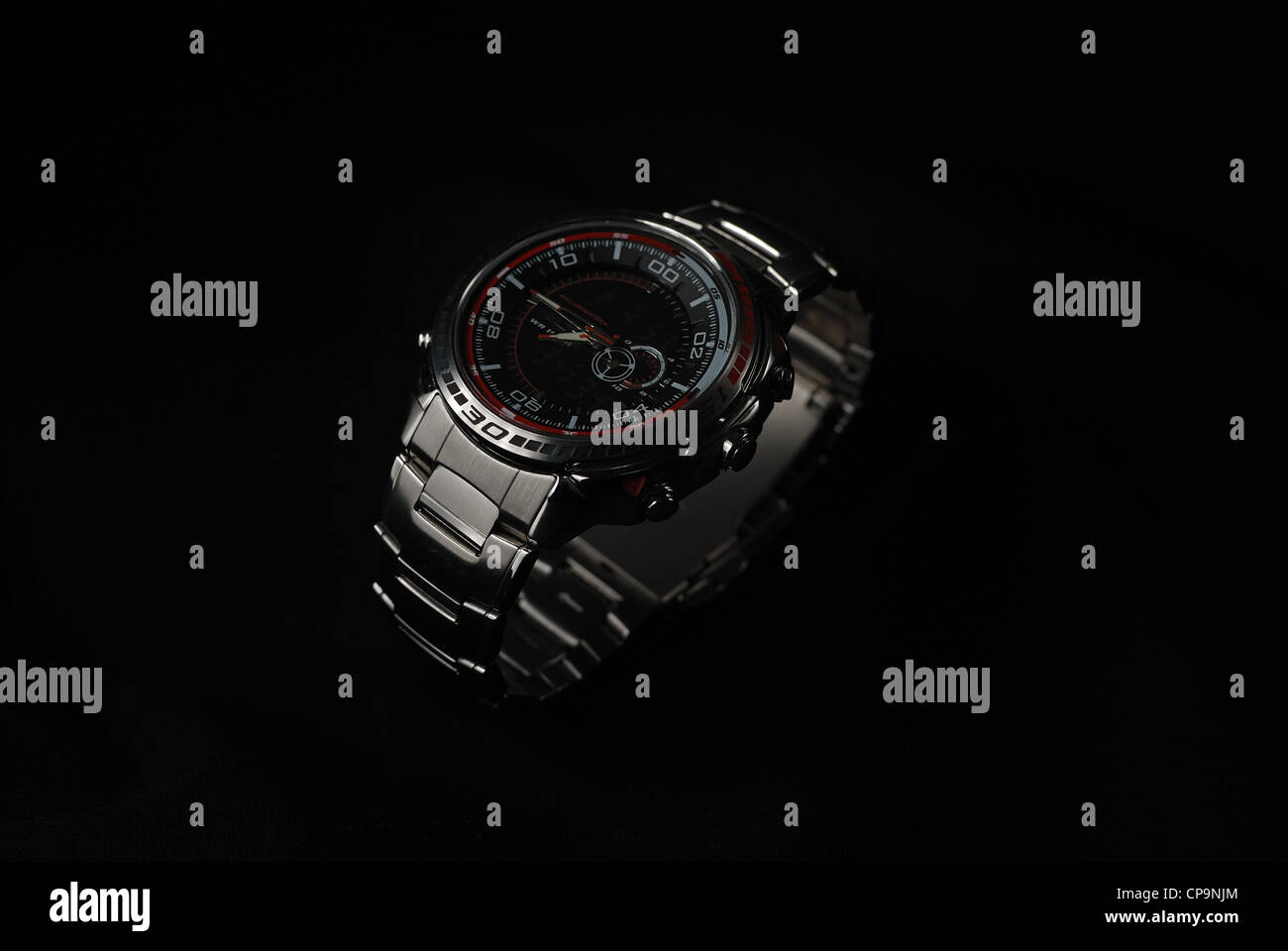 Close up of a sports watch - Stock Image