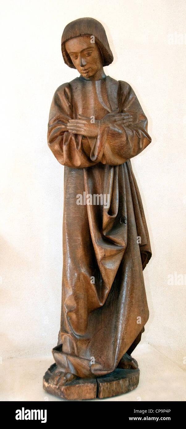 St. John of Calvary 15 century Loire Valley France French - Stock Image