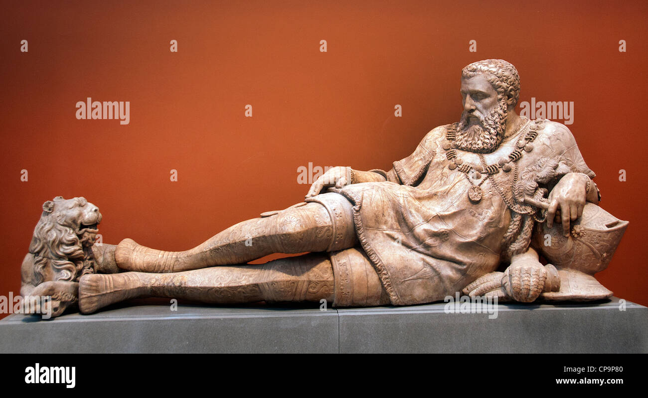 Tombeau de Philippe Chabot comte de Brion admiral de France mort 1543 French - Stock Image