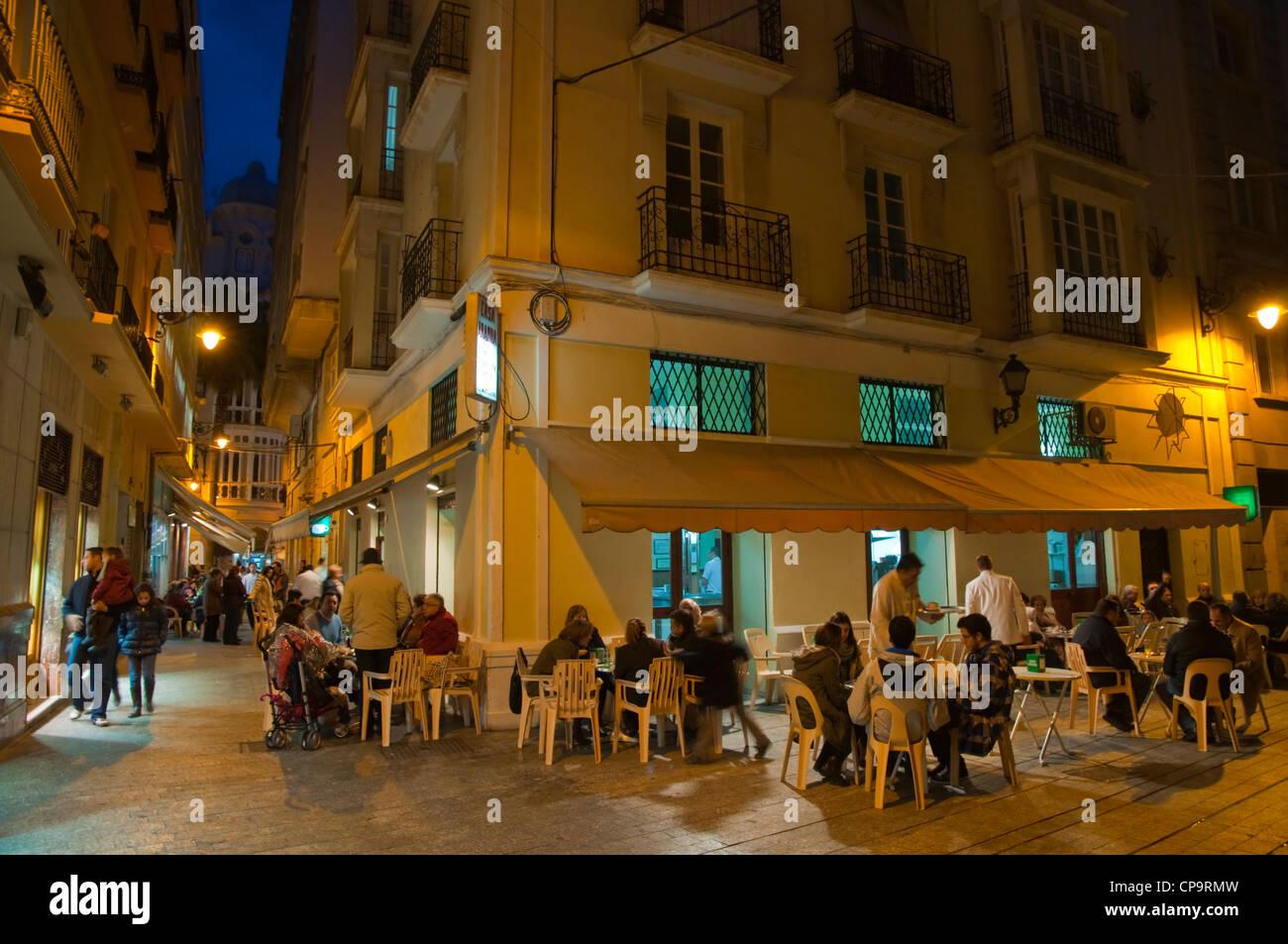 Casa Aranda cafe exterior central Malaga Andalusia Spain Europe Stock Photo