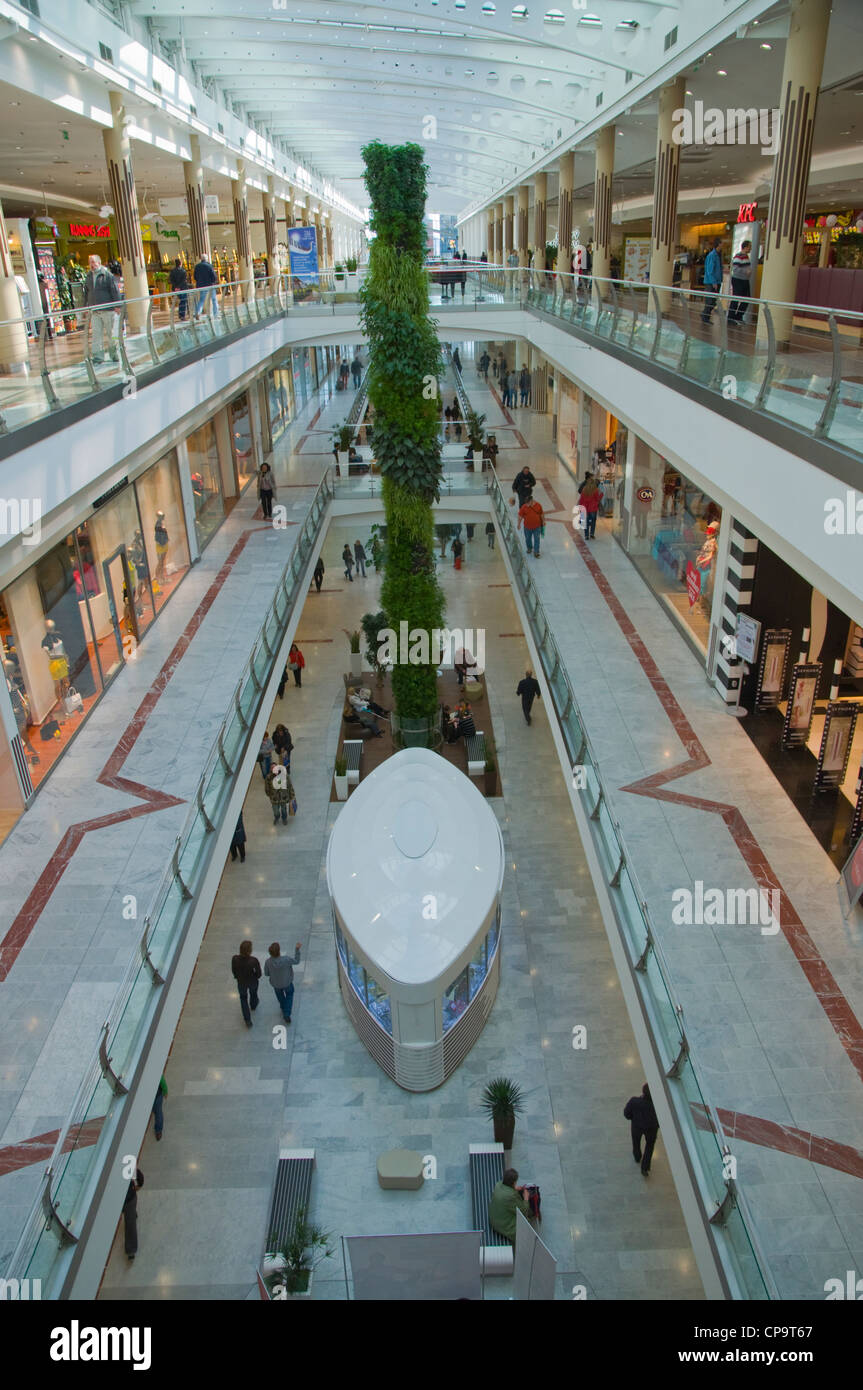 b348d4458f Novy Smichov shopping centre Smichov district Prague Czech Republic Europe  - Stock Image