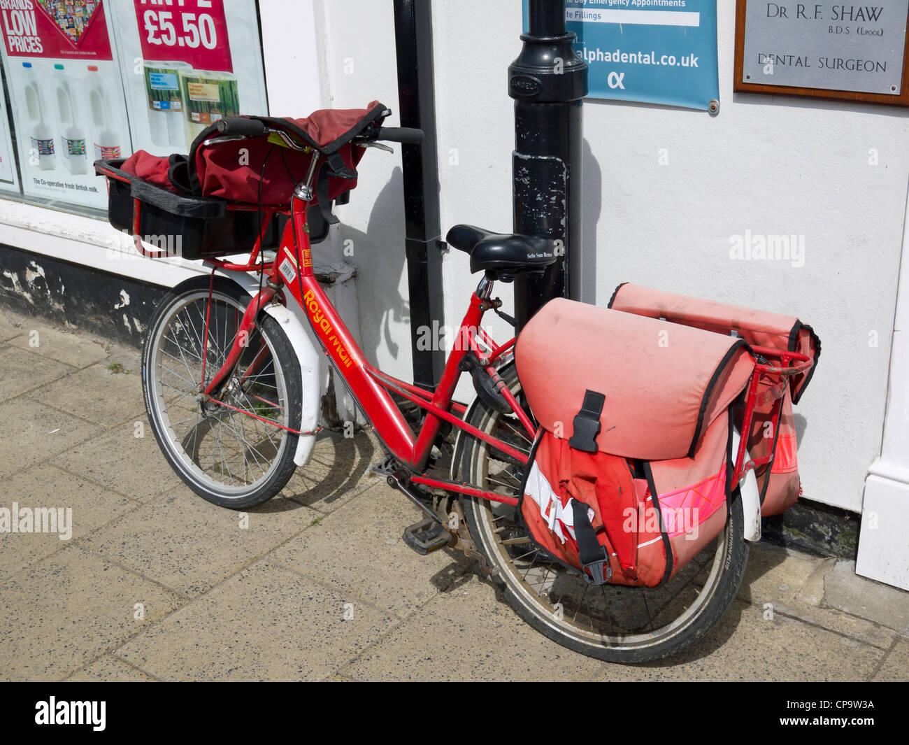 Postman Bicycle Stock Photos & Postman Bicycle Stock ...