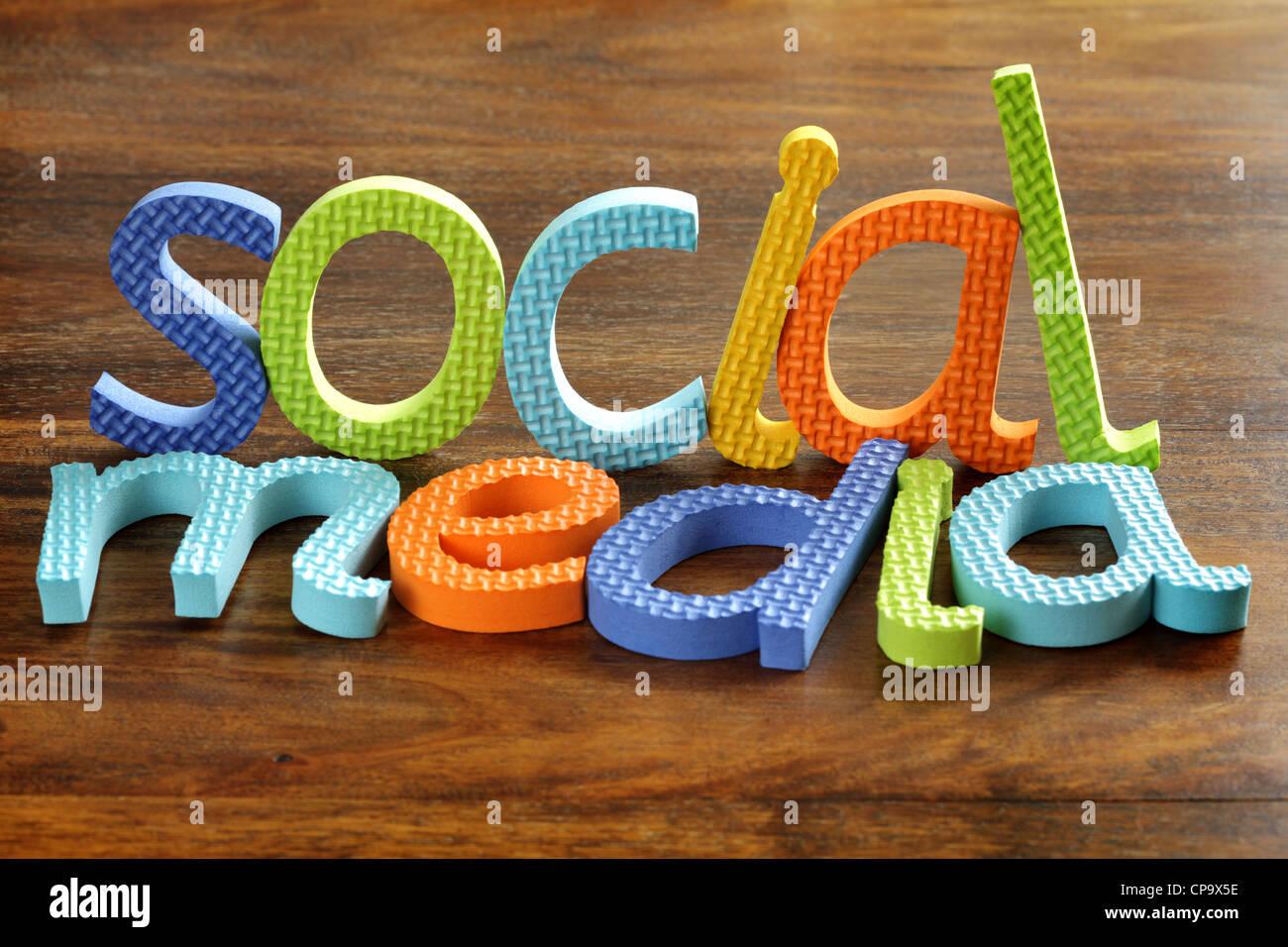 Social media - Stock Image