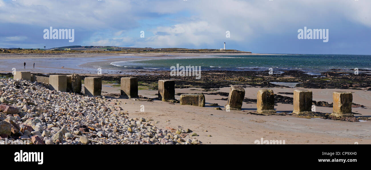 Lossiemouth, Moray Firth, Aberdeenshire, Scotland - Stock Image