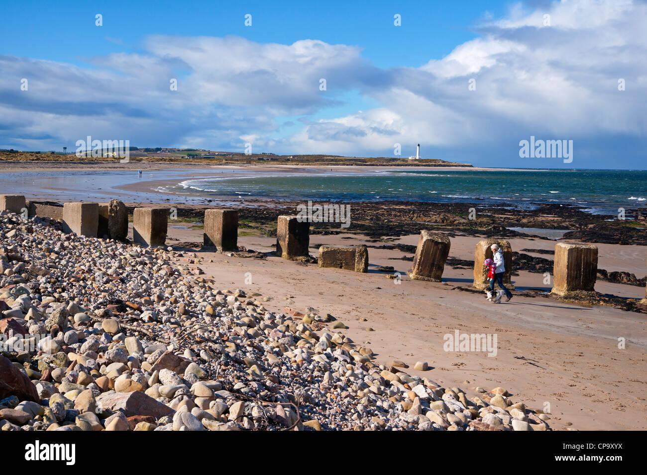 Lossiemouth, Moray Firth, Scotland - Stock Image