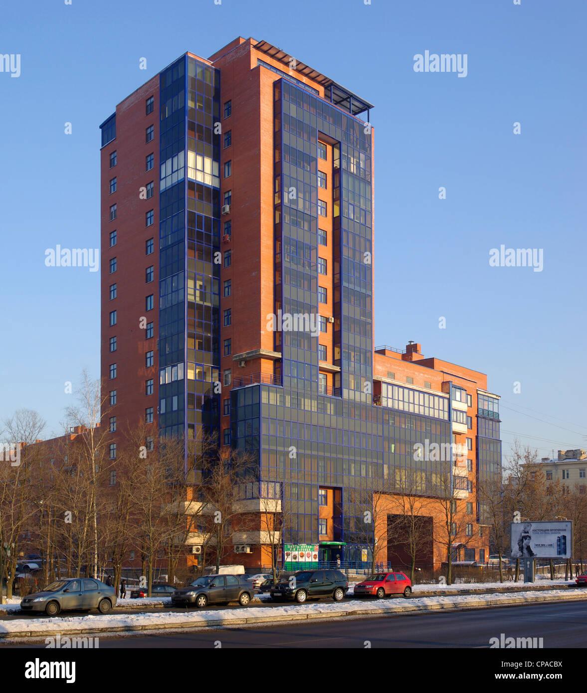 House Nesvitskaya on Smolenskaya - Sennaya
