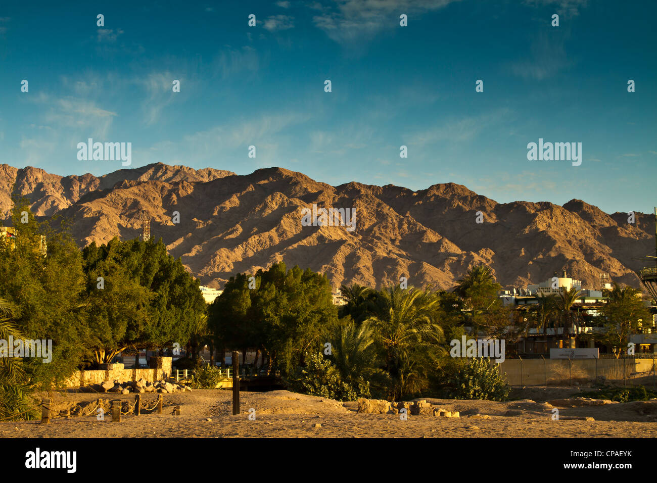 Mountains of the Red Sea, Aqaba, Jordan - Stock Image