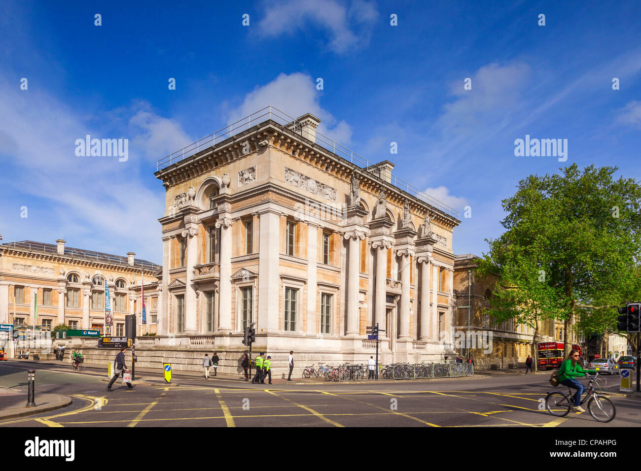 The Ashmolean Museum in Oxford, which was the world's first University Museum. - Stock Image