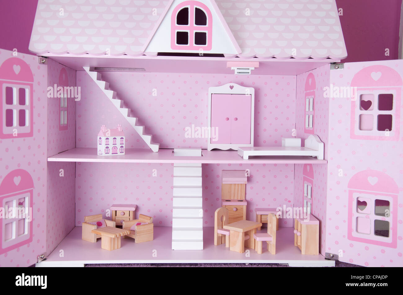 Pink Dolls House Stock Photos Pink Dolls House Stock Images Alamy