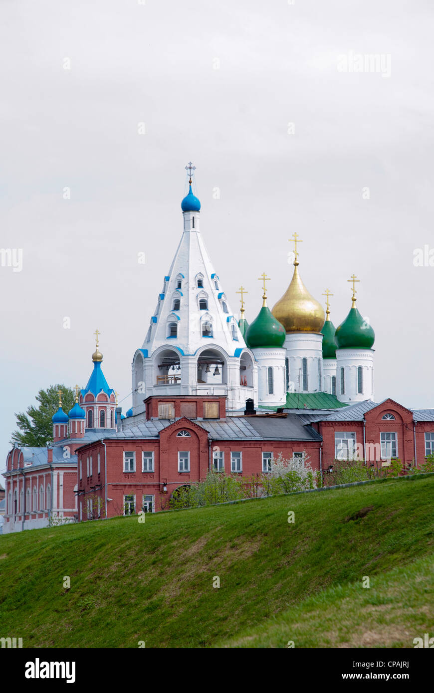 Russian churches in Kolomna. Moscow region, Russia Stock Photo