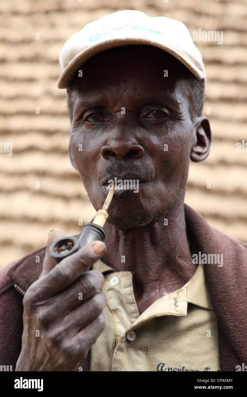 Pipe Smoking Smoker Stock Photos   Pipe Smoking Smoker Stock Images ... 476c92c33b46