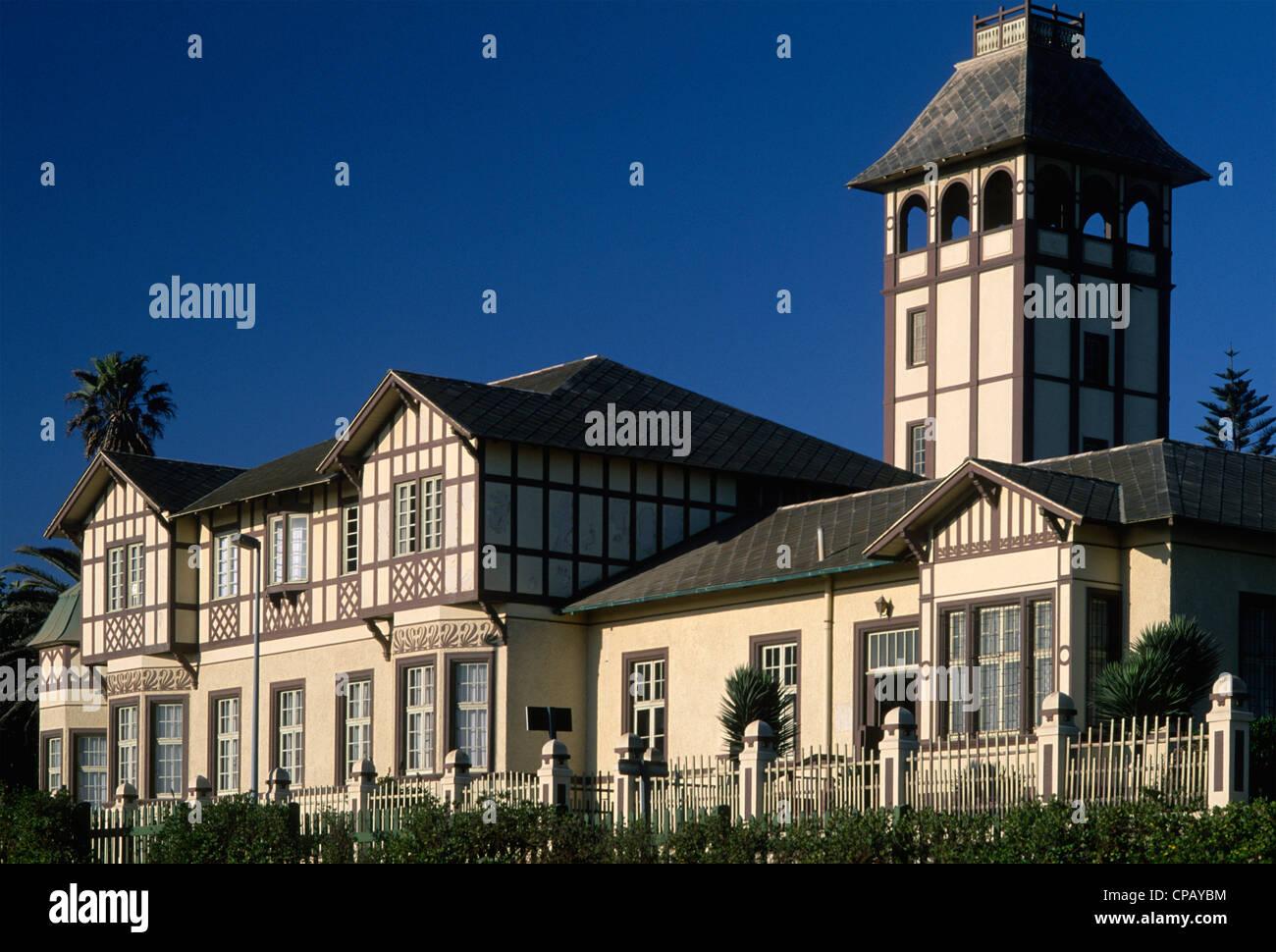 Namibia Swakopmund Woermann Haus german colonial architecture
