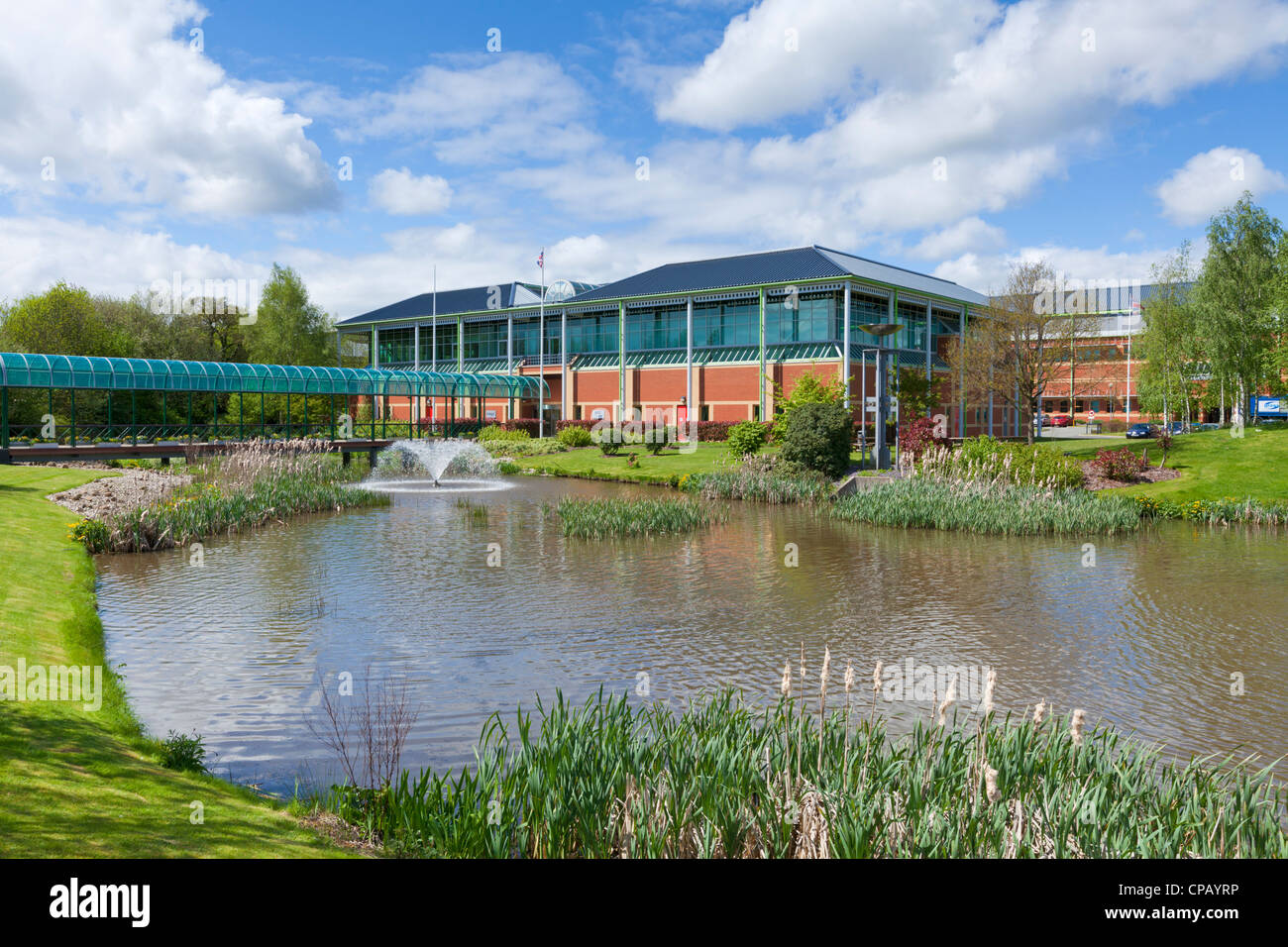 Sir Denis Rooke building home of SEIC systems engineering Innovation centre Loughborough University Leicestershire - Stock Image